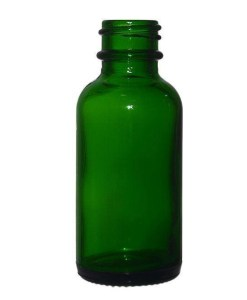 Dark Green Boston Round Bottles