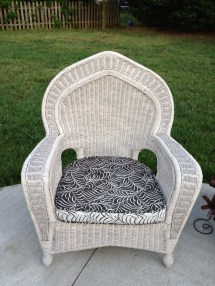 Pier 1 Wicker Seats - Fresh Vintage Nc