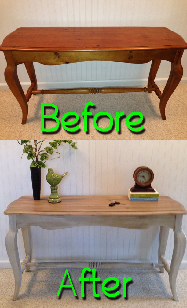 Before  After  Fresh Vintage NC