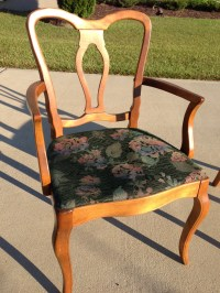Rock Maple Captain's Chairs - Fresh Vintage NC