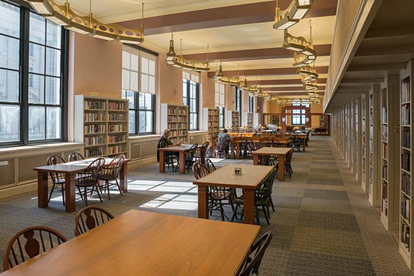 Seven wonders of the Cleveland Public Library
