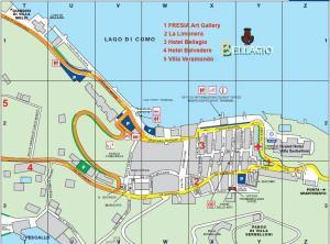 Bellagio Map