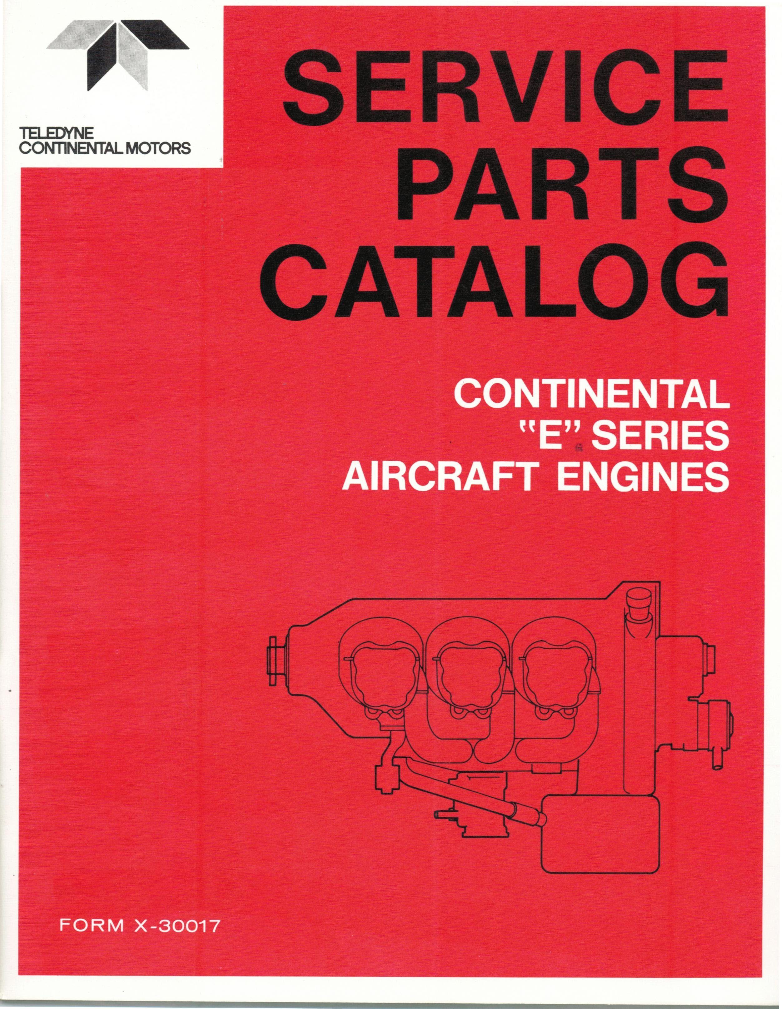 X-30017 Manual Parts Catalog - Fresno Airparts Co