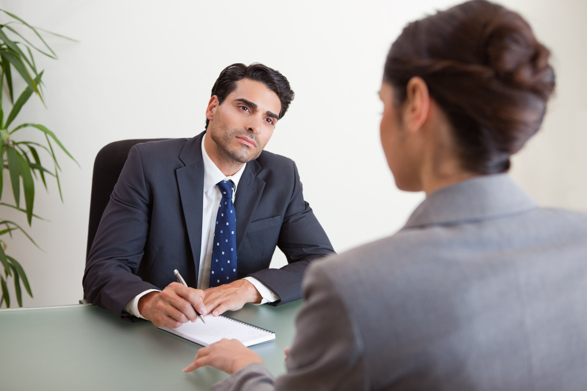 hight resolution of how to proceed when you say the wrong thing in an interview