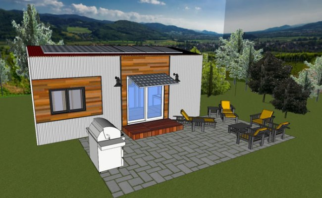Tiny House Project Gets A Fresno State Send Off To