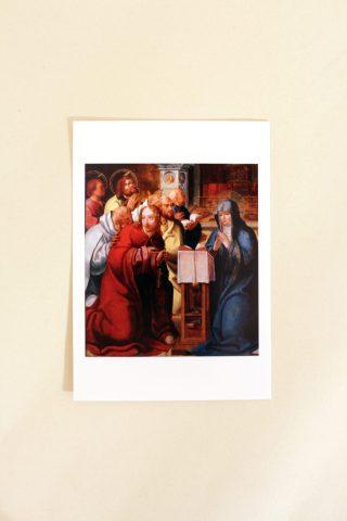 Postal - Pentecostes (pintura)