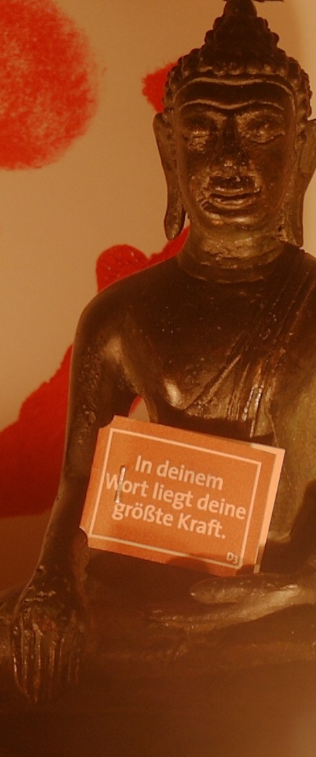 "simsalaseo - Buddha geht seinen Weg: ""Seltsam ist das  Tun, seltsam ist das Nichttun auch""."