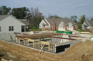 Basement construction in Fresno