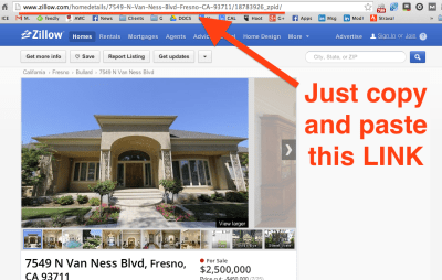 How to get in to see a property on Zillow or Trulia