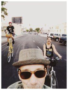 Fresno Bike Hop Selfie