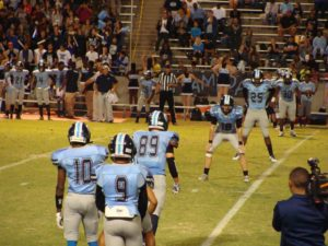 Bullard in Kickoff formation