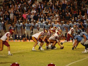 Bullard fans passionately into the game