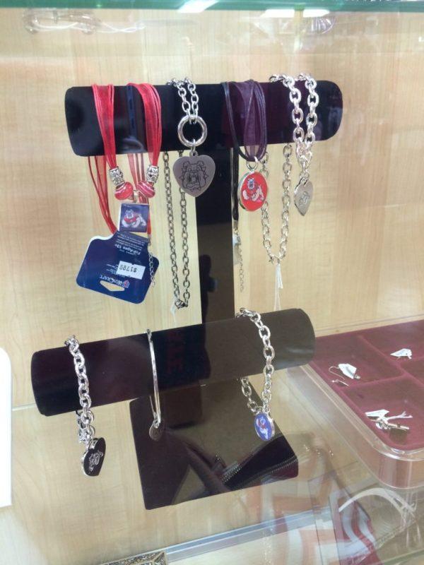 Jewelry at Bulldog Fan Zone