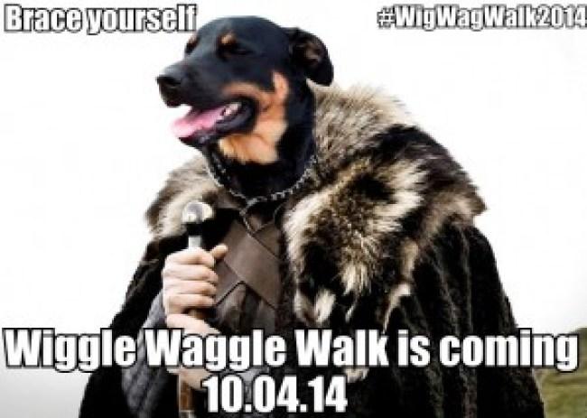 Wiggle Waggle Walk Save the Date