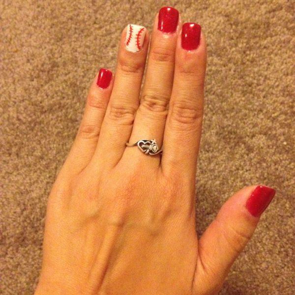 Baseball nails by Nails 4 Ever