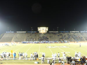Memorial Stadium was the sight for this quarter final d-3 game
