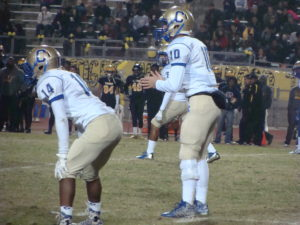 Samir Allen lined up along side his QB