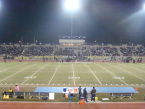 Sunnyside stadium was packed for this classic match up
