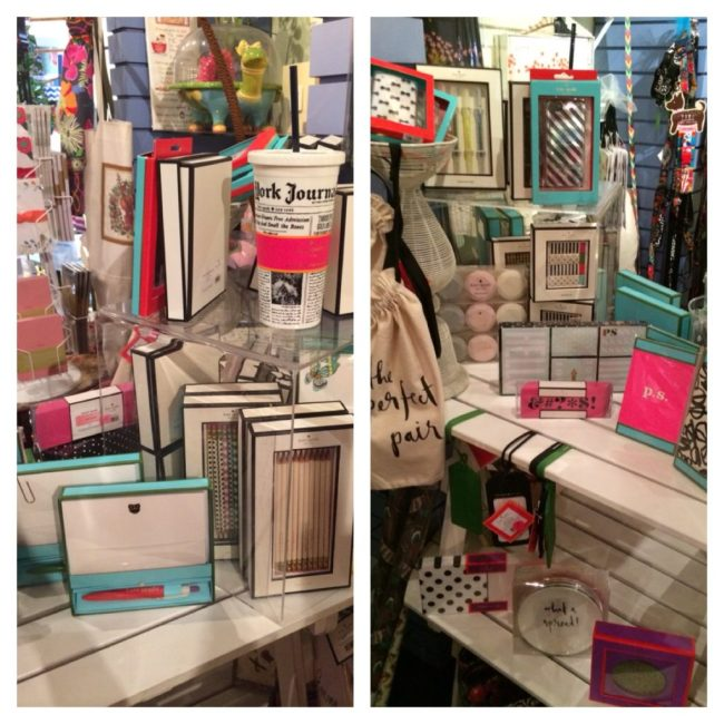 Kate Spade stationery and housewares at Top Drawer
