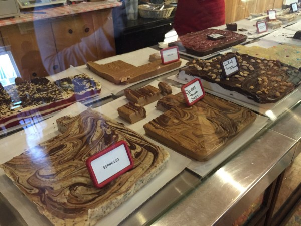 Try the Panuchi (brown sugar) fudge - so good!