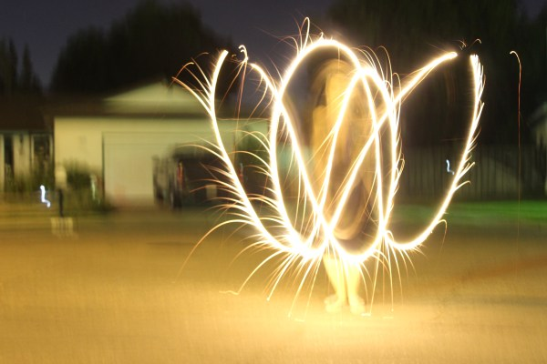 Try not to be too jealous of my mad sparkler skills ;-)