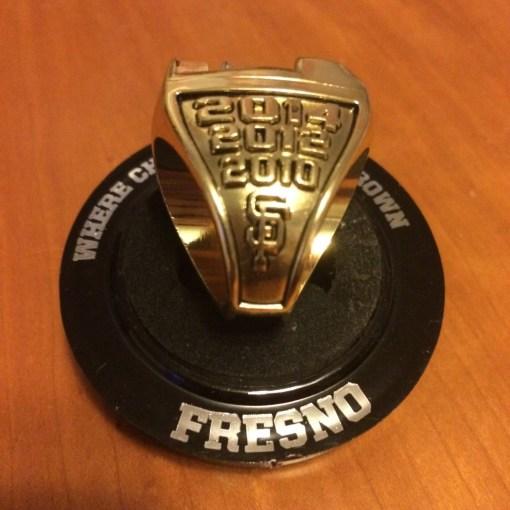 Fresno Championship Baseball Ring