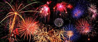 Fireworks at Chukchansi Park