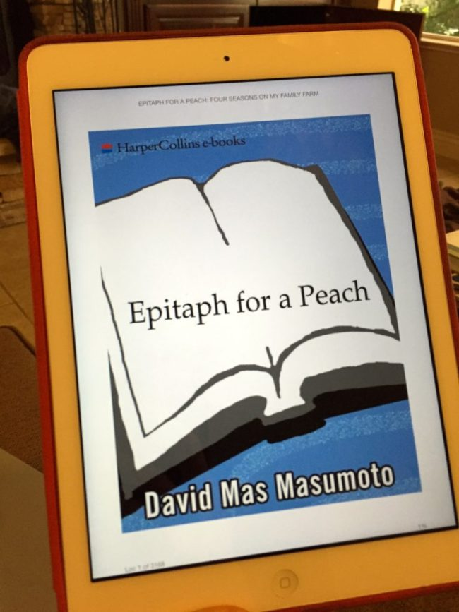 Epitaph for a Peach - David Mas Masumoto