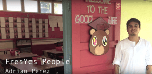 FresYes People – Mendota Teacher Adrian Perez Talks About His Kanye West Classroom