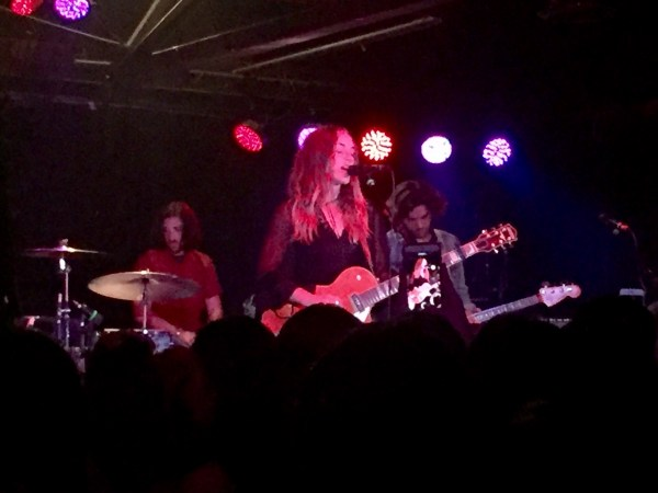 Zella Day entrancing the audience with her awesome vocals