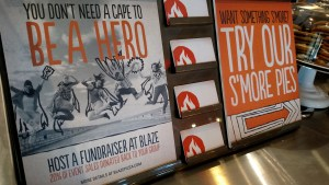 Blaze Pizza's Grand Opening