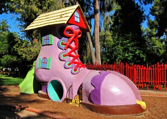 The shoe at storyland