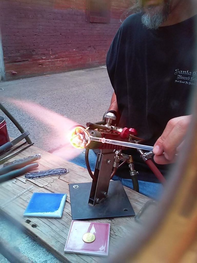 Working with Glass at Fresno Ideaworks