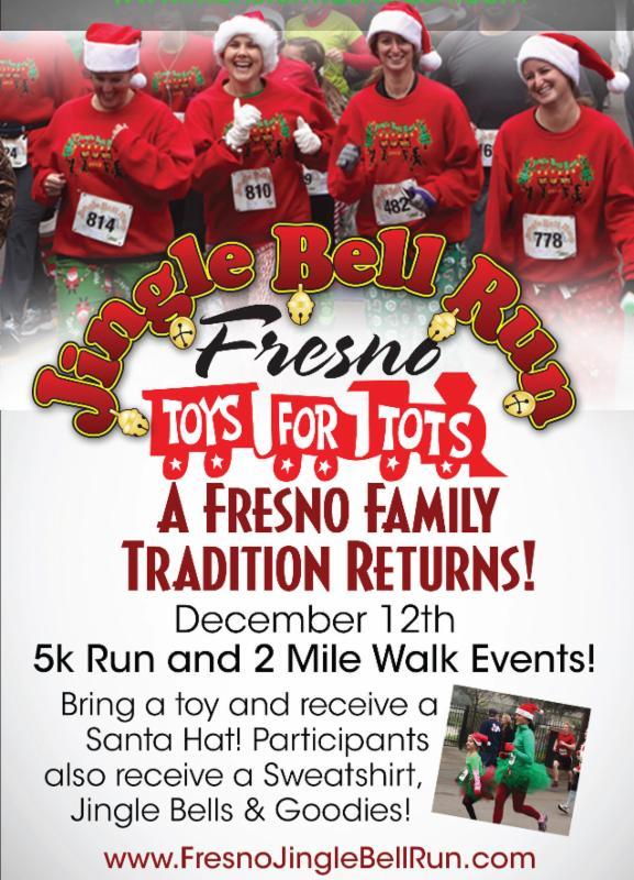 Jingle Bell Run Poster