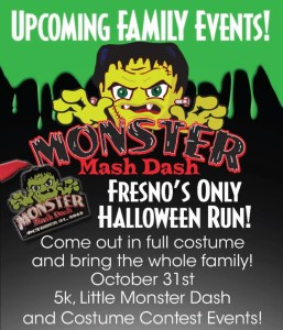 Jingle Bell Run & Monster Mash Dash: Two fun family 5k's for the holidays!