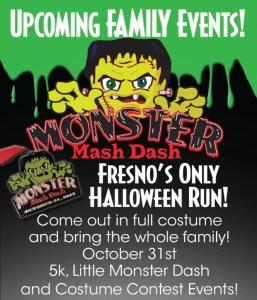 Monster Mash Dash Poster