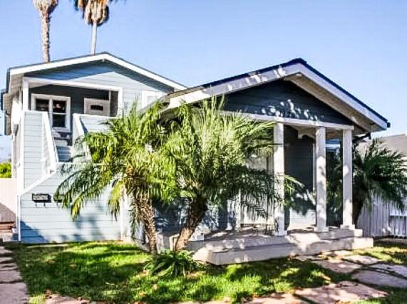 The largest item up for auction: Eco-friendly vacation home in Santa Barbara, California