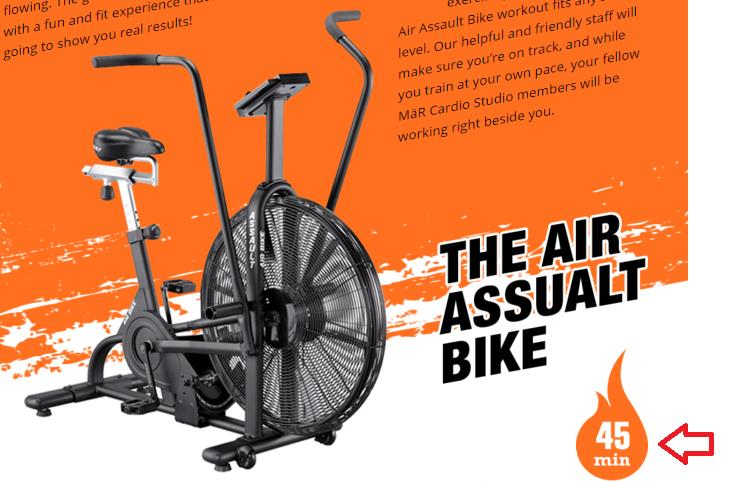 The air assault bike