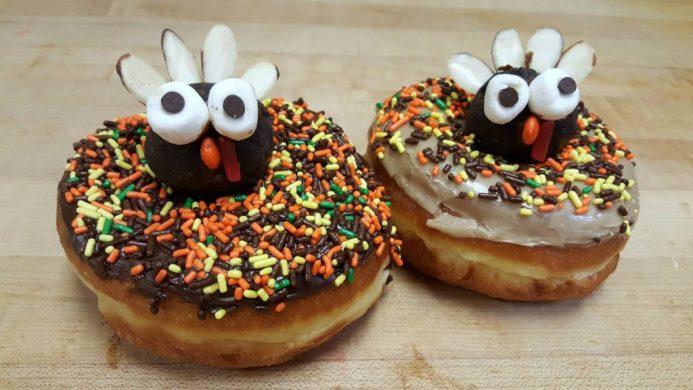 turkey donuts from Clovis Donuts