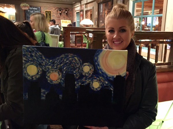 My first Paint Nite painting