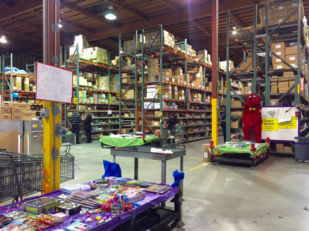 Inside the Scholastic Warehouse Sale