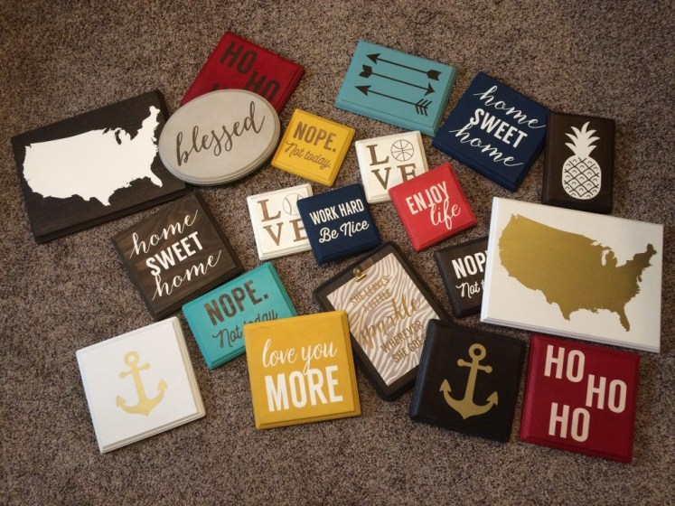 a wide variety of signs from Anchor and soul crafts signs