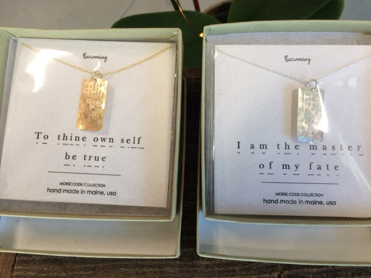 Necklaces at Three Graces