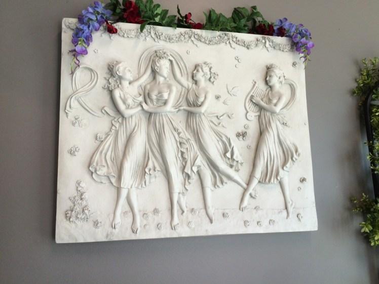 Wall Fresco at Three Graces