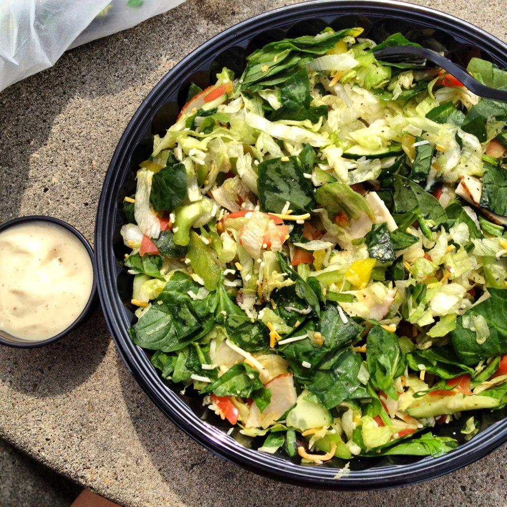 Subway Chopped Salad