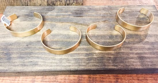 gold bangles at The Foundry Collective