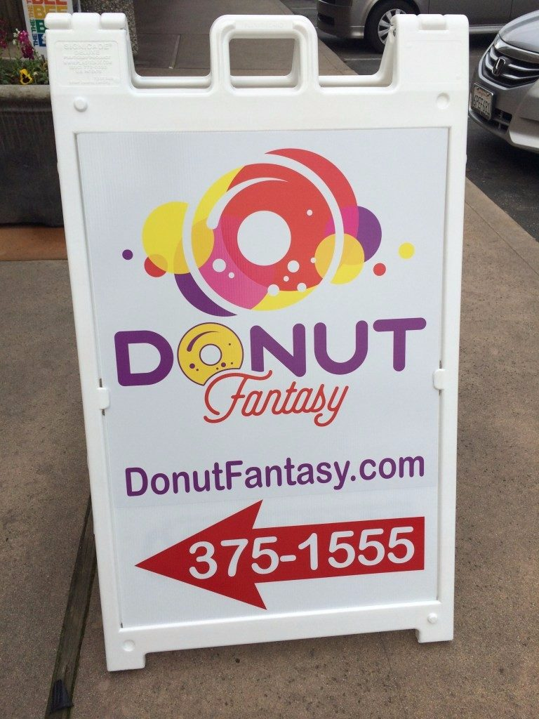 Fantasy Donut Sign