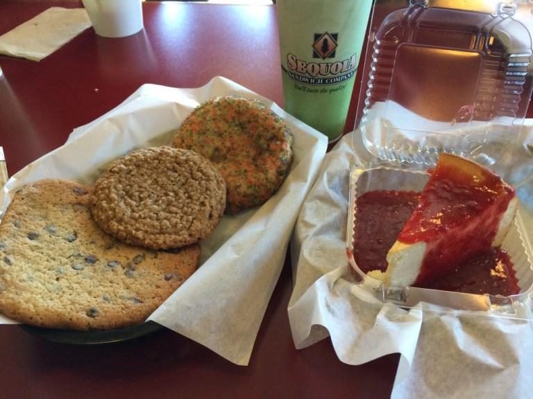Dessert at Sequoia Sandwich Company in Clovis