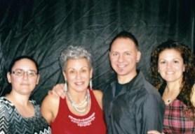 Deborah with her children