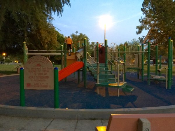 The kids playground